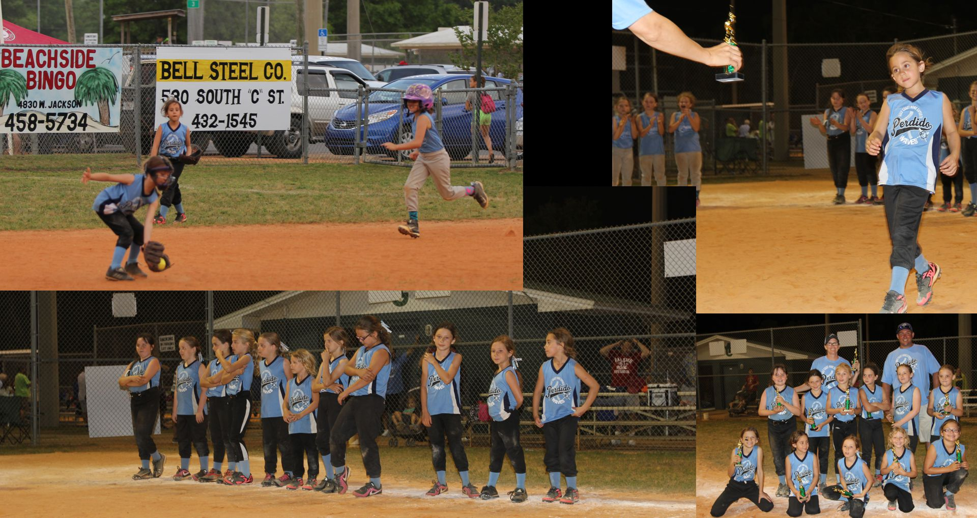 2015 8U Softball Piranhas - Perdido Key - Perdido Bay Your Sports Association - Picture 6